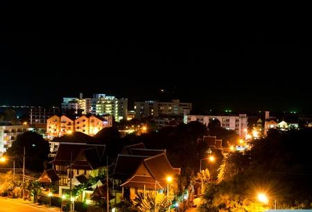 Night scence at Pattaya, Thailand. photo