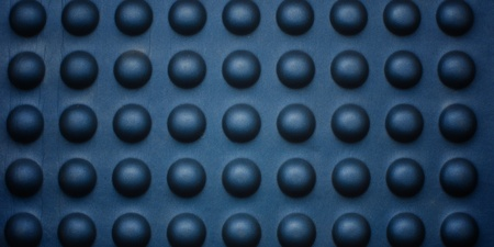 Blue bubble abstract texture. photo