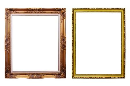 Photo frames isolated. photo