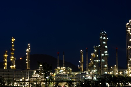 Oil purity plant. Stock Photo - 11931104