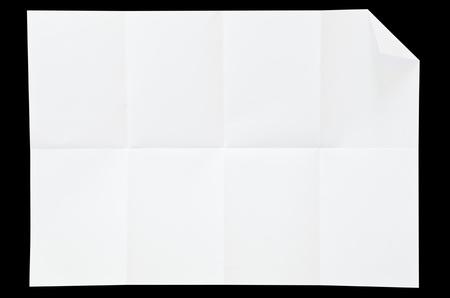 Blank white paper texture. photo