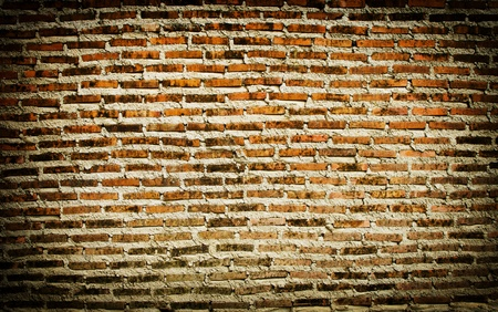 Old brick wall texture background. photo