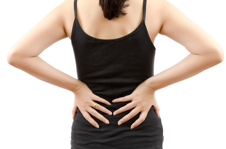 Woman Suffering From Back pain Stock Photo - 13015253
