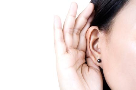 tattle: Woman listening