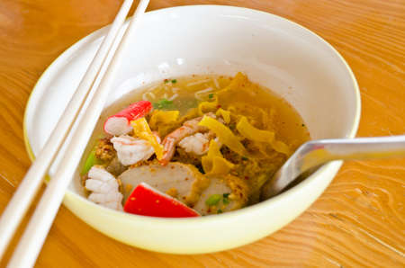 Thai noodle food  photo