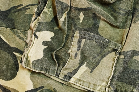 Camouflage texture backgroud  Army suit  photo