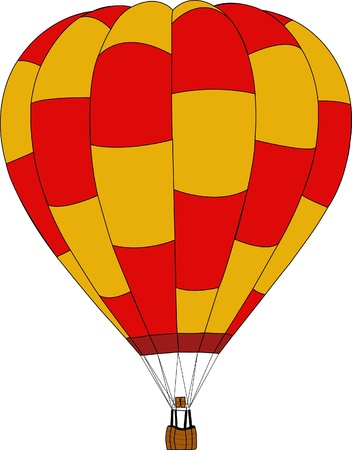 Hot Air Balloon  Stock Vector - 15372128