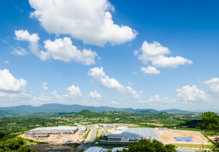 zoning: Estates Zone under Construction with Blue Sky field