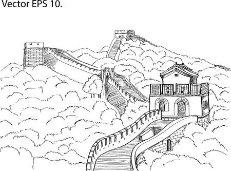 Chinese Muur Sketch Up