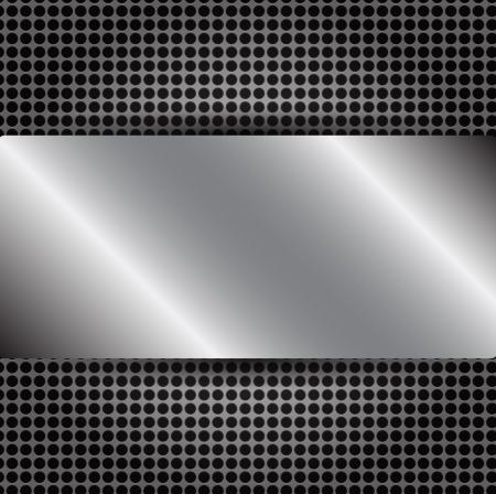 Abstract Metallic Background Illustrator Stock Vector - 18250297