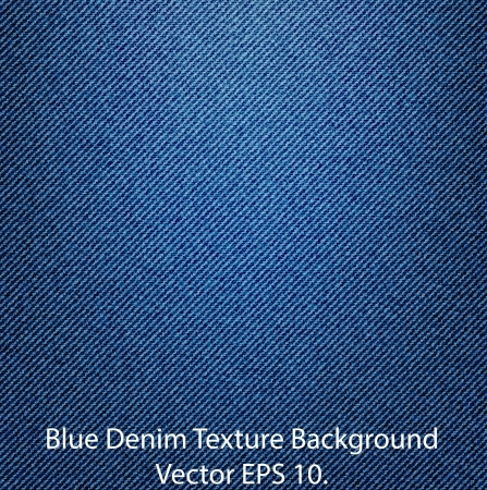 Blue Denim Texture Background