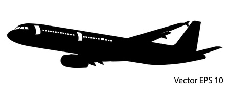 Airplane Vector Illustration Vector