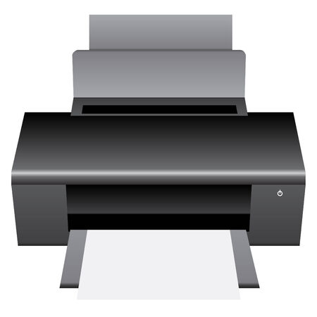 Printer Vector Illustration, EPS 10  Vector