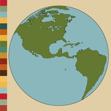 World map tierra lnea globe vector bosquejada arriba illustrator world map earth globe vector illustrator eps 10 gumiabroncs Choice Image
