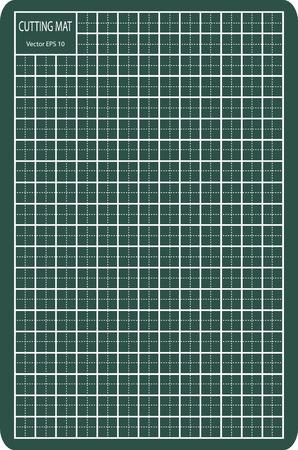 Cutting Mat, Vector Illustration
