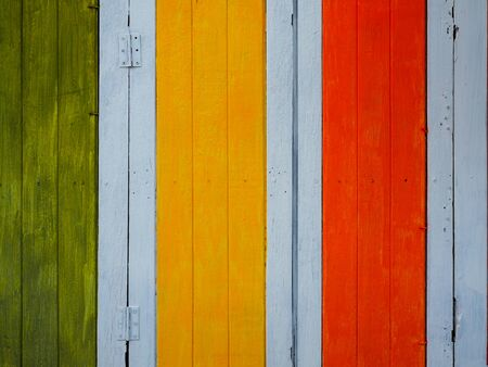 Colorful Vintage Wood Wall Texture Background. Фото со стока