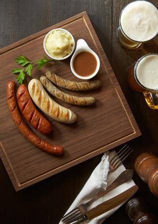 Sausage Set. Фото со стока