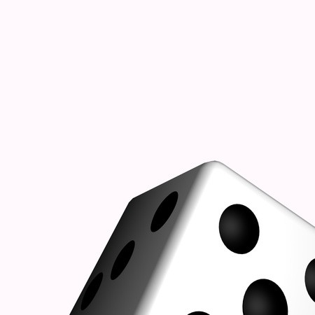 The dice in the art concept. Stock Photo - 9962715