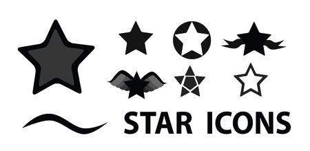 Art star icons  Vector
