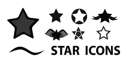 star icons: Art star icons