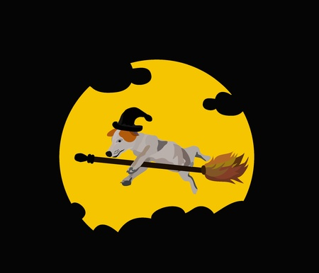 enchantress: Vector - Wonderful dog Concept Oh  my dog can fly