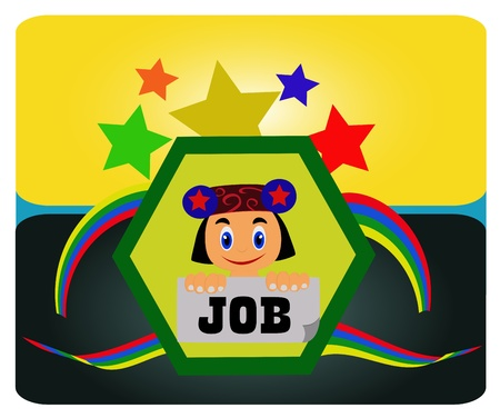 stressful: job search  concept Finding a job is not stressful that you don t serious and find the right job