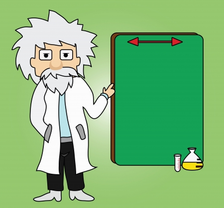 Illustration - Professor He described the trial