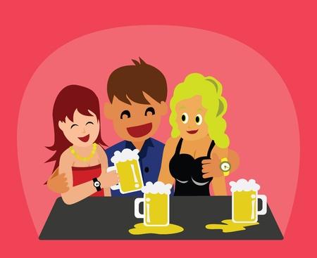 Illustration - Drinking