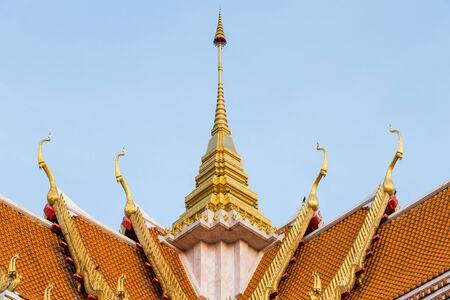 buddhist temple roof: Buddhist Temple Roof