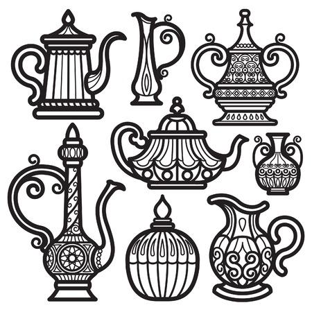 Tea Pot & Kettle Vintage