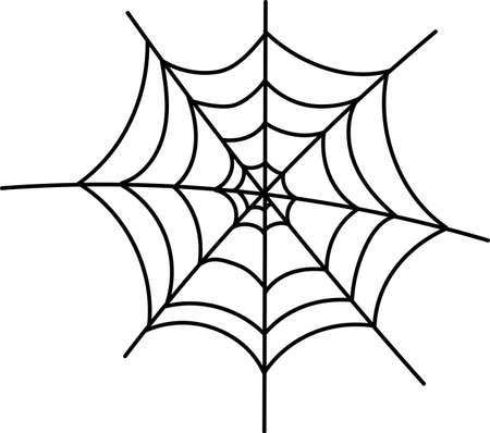 Halloween cobweb, scary elements for decoration
