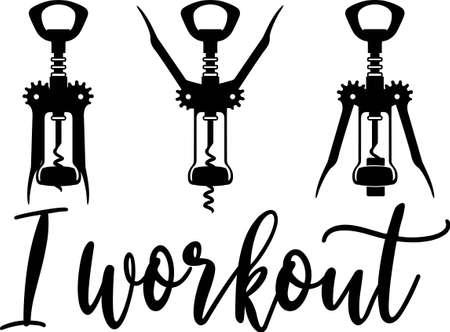 I workout Vecteurs