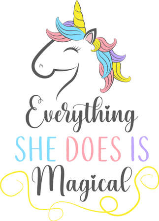 Everything she does is magical