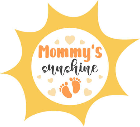 Mommy's sunshine 免版税图像 - 157437189