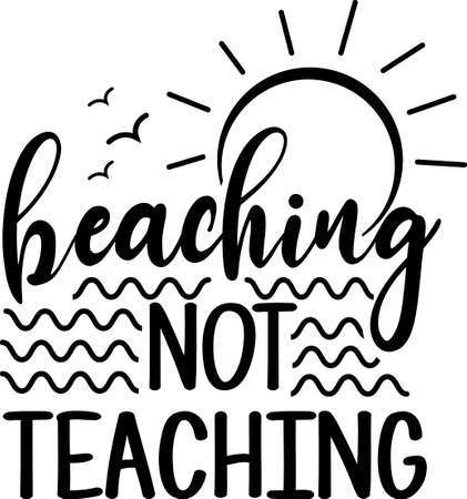 Beaching not Teaching Çizim