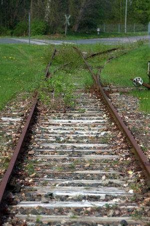 reisen: Old train tracks