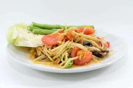 Papaya Salad Stock Photo - 21062708
