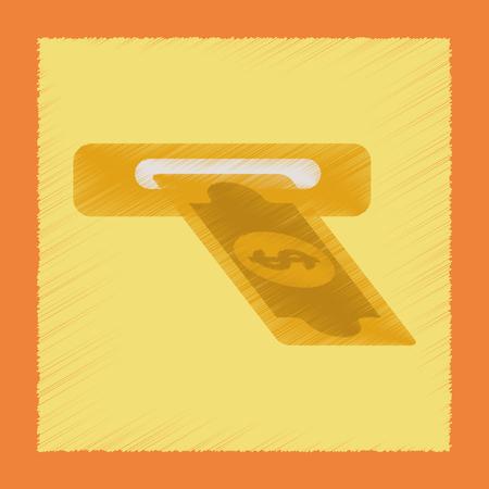 fanned: flat shading style icon poker dollar money
