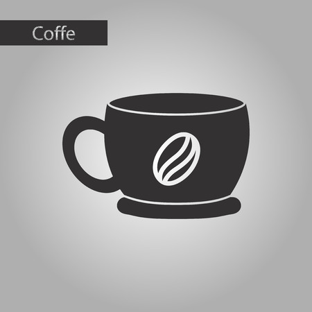 flavor: black and white style coffee cup flavor