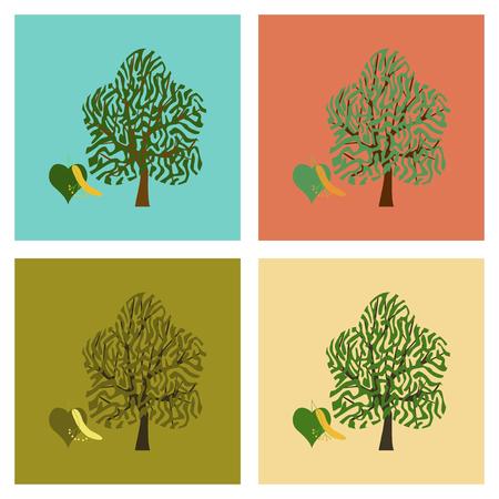 tilo: Ejemplos de montaje de planos flora madera de tilo