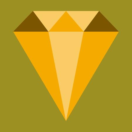 flat icon on stylish background diamond expensive jewelery Reklamní fotografie - 80631450