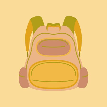 flat icon on stylish background fashionable bag