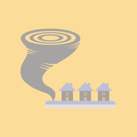 swirl: Tornado illustration. Illustration