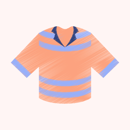 flat shading style icon clothes T-shirt