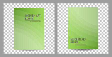 Set of business brochure flyer banner design template vector, cover presentation abstract geometric background, modern publication