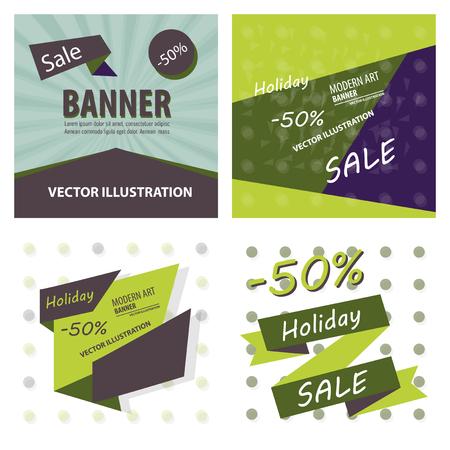 Big sale banner with ribbon. Vector illustration. Ilustración de vector