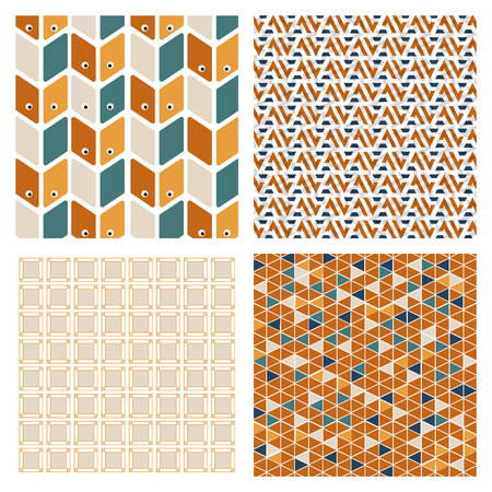 Abstract Creative concept vector multicolored background set. For Web and Mobile Applications, art illustration template design, business infographic and social media, modern decoration.