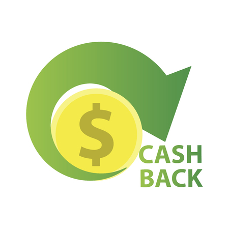 Cash back Sale banner template design, Big sale special offer. Vector illustration. Ilustrace