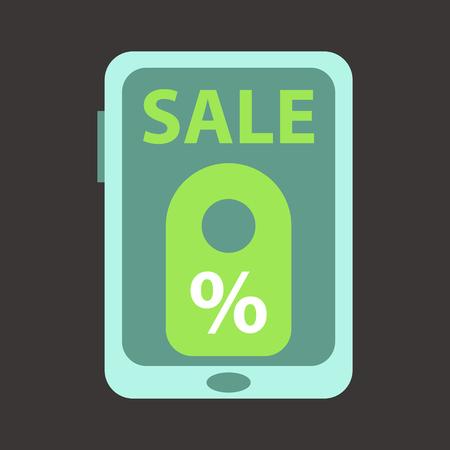 Big Sale Banner. Ribbon. Vector Illustration