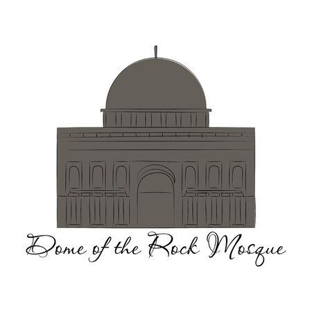 Vector Mosaic Al-Aqsa Mosque